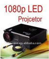 Hd luxcine led proyector, 1080p, hdmi,