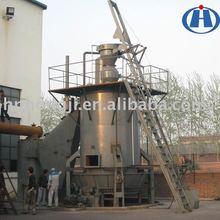 hot gas coal gasifier