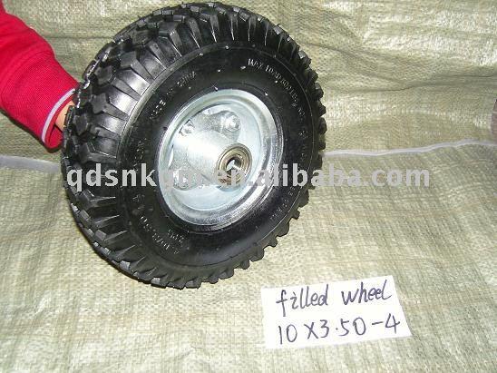 pu rubber wheel