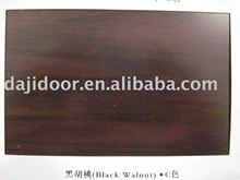 Wooden Door Colour Black Walnut Dark
