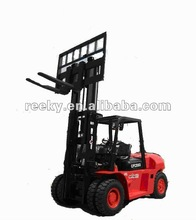 8t Durable Carrying Counterbalance Diesel Powered Forklift Truck