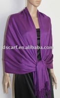 Z033_A22#:winter scarf with Solid Color 100% cotton Pashmina