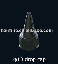 18/410 cosmetic plastic drop cap,scew cap