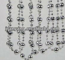 bead garland, acrylic garland, christmas plastic garland