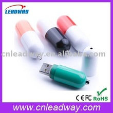 4G medical pill shaped usb flash