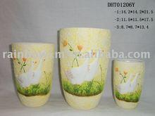 animal vase