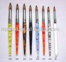 75% Sable Acrylic Nail Brush For Nail Art