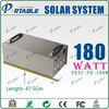 180W Portable Solar Home System | solar energy system
