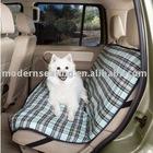 Plaid Pet Dog Auto / Car Seat Cover