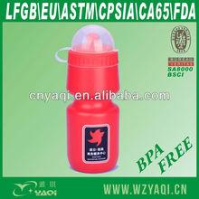 500ml PE plastic bottle/sport bottle/promotional bottle for 2013