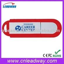best promotion gift cheapest plastic custom logo flat usb stick