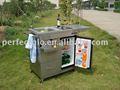 Barbacoa parrilla de gas accesorio/al aire libre carro de cocina