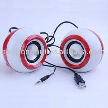 Hot Sales Stylish USB mini speaker MP3/MP4 sound box