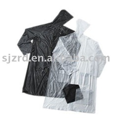Rainwear / black raincoat