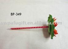 lotus plastic flower ball pen