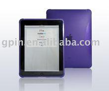New designed purple tpu case for Ipad