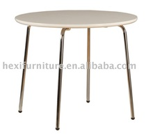 Modern dining table with stainless steel DT-5030