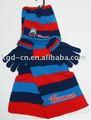 ฤดูหนาวถักหมวกผ้าพันคอถุงมือชุด, ชุดฤดูหนาว