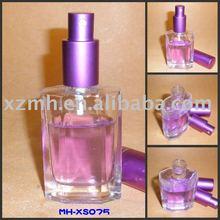 50ml glass perfume bottle with sprayer