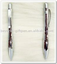 bowling style metal ball pen