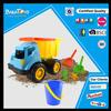 Newest 2 shovel and bucket kids beach toy truck