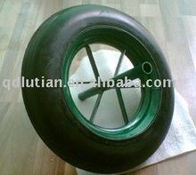 wheelbarrow solid rubber wheel, solid rubber wheel for wheel barrow