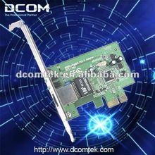 Gigabit PCIE Fast Ethernet Network Adapter(1 10/100/1000M RJ45 port PCI Express LAN card,network card)