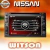 WITSON NISSAN QASHQAI/XTRAIL/Tiida/Bluebird/PALADIN Car Video GPS System