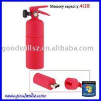 1G/2G/4G/8G oem rubber extinguisher usb flash memory 2.0