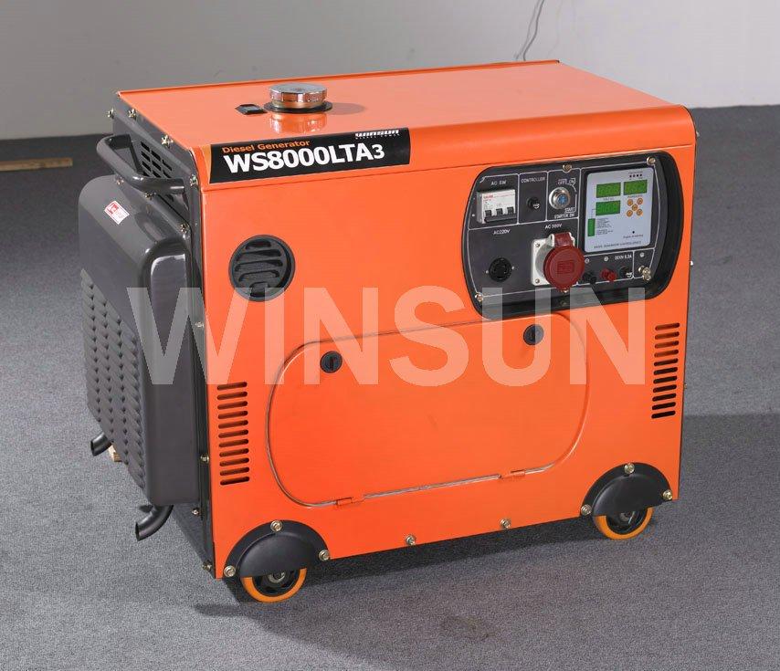 groupe électrogène 9KW diesel silencieux--Monophasé