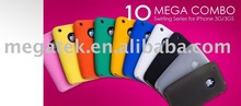 Cell phone accessory phone case Rubber Silicon case cover for iphone 3g 3gs , for iphone 3g cover