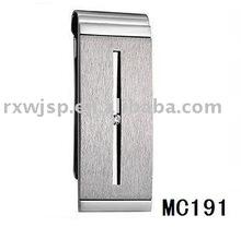 Elegance Men's Gift 316L Stainless Steel Wallet Money Clip