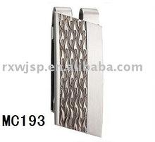 elegance men's gift 316L stainless steel money clip