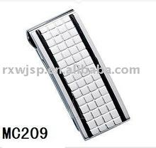 new fashion men's gift 316L stainless steel money holder
