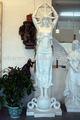 En fiber de verre déesse Sculpture pour décoration