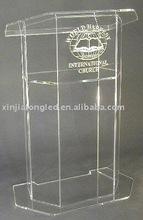 Wholesale Acrylic Lectern Acrylic Podium School Furniture