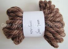 super chunky thick yarn 1.4nm/4 100%wool yarn