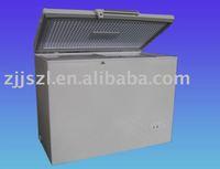 Chest freezer with top open door, inside glass, lamp BD/BC-238