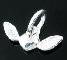 Heart&Wing Dangle Beads. Fits Charm Bracelet