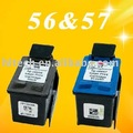 Compatible con hp 56, hp 57 de tinta del cartucho