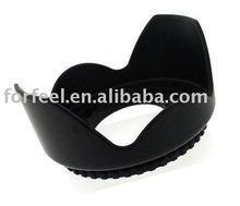 58mm screw mount flower lens hood