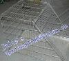 Galvanized pet dog cage