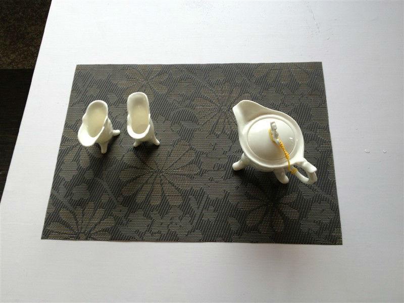 size 30*45cm restaurant table mats,pvc placemats