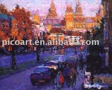 Landscape european style oil painting