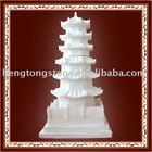 White Marble Garden Statue,Stone Tower