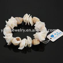 handmade beautiful shell bracelets/diy sea shell conch jewelry