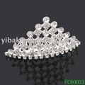 strass tiara nupcial com pente de cabelo tiaras de casamento decoração acessórios