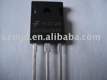 Transistor HGTG20N60B3D G20N60B3D