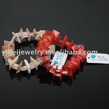 handmade bizarre colorful shell bracelets jewelry