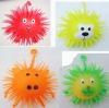 TL-212 Fluffy Animal YOYO Flashing Puffer Ball Toy